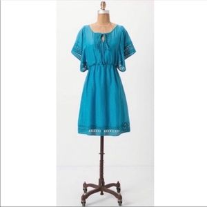 Anthropologie HD in Paris Blue Stone Harbor Dress